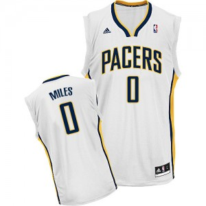 Maillot NBA Swingman C.J. Miles #0 Indiana Pacers Home Blanc - Homme