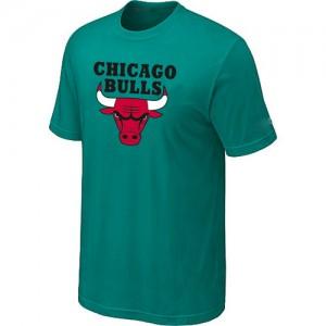 Chicago Bulls Big & Tall Tee-Shirt d'équipe de NBA - Vert pour Homme