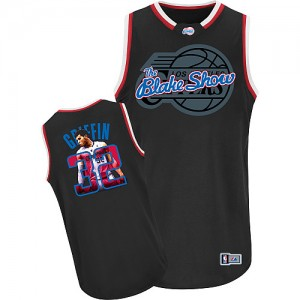 Maillot NBA Noir Blake Griffin #32 Los Angeles Clippers Notorious Authentic Homme Adidas