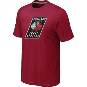 Portland Trail Blazers Big & Tall Rouge Tee-Shirt d'équipe de NBA préférentiel - pour Homme