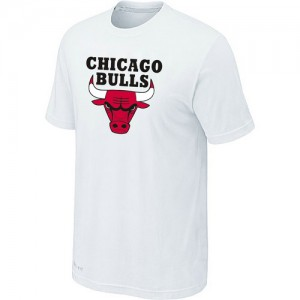 Tee-Shirt NBA Chicago Bulls Big & Tall Blanc - Homme