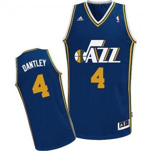 Maillot Adidas Bleu marin Road Swingman Utah Jazz - Adrian Dantley #4 - Homme