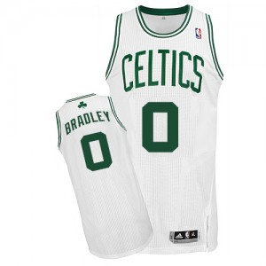 Maillot Authentic Boston Celtics NBA Home Blanc - #0 Avery Bradley - Homme