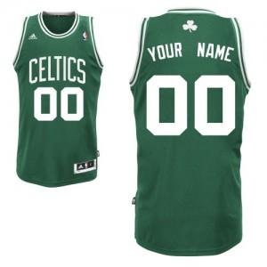 Maillot Boston Celtics NBA Road Vert (No Blanc) - Personnalisé Swingman - Enfants