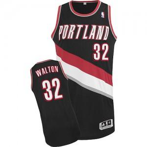 Portland Trail Blazers #32 Adidas Road Noir Authentic Maillot d'équipe de NBA Promotions - Bill Walton pour Homme