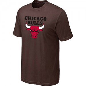 Tee-Shirt NBA Chicago Bulls marron Big & Tall - Homme