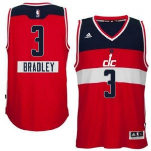 Maillot Authentic Washington Wizards NBA 2014-15 Christmas Day Rouge - #3 Bradley Beal - Homme