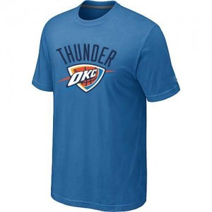 Tee-Shirt NBA Bleu clair Oklahoma City Thunder Big & Tall Homme