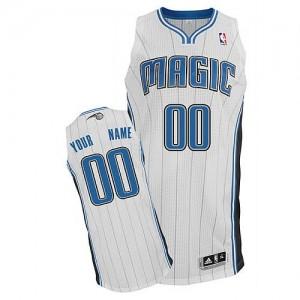 Maillot NBA Blanc Authentic Personnalisé Orlando Magic Home Homme Adidas