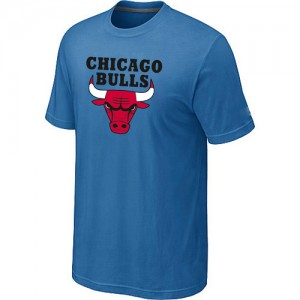 Tee-Shirt NBA Chicago Bulls Bleu clair Big & Tall - Homme