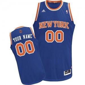 Maillot New York Knicks NBA Road Bleu royal - Personnalisé Swingman - Homme