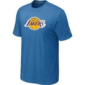 Los Angeles Lakers Big & Tall Bleu clair Tee-Shirt d'équipe de NBA Le meilleur cadeau - pour Homme