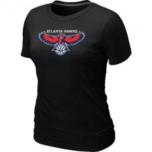 Tee-Shirt NBA Atlanta Hawks Big & Tall Noir - Femme