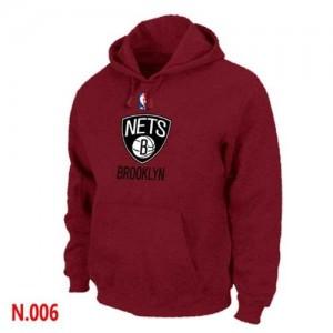 Sweat NBA Brooklyn Nets Rouge - Homme