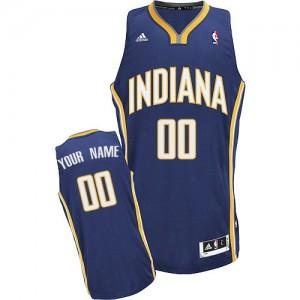 Indiana Pacers Swingman Personnalisé Road Maillot d'équipe de NBA - Bleu marin pour Homme