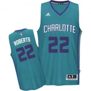 Charlotte Hornets #22 Adidas Road Bleu clair Swingman Maillot d'équipe de NBA magasin d'usine - Brian Roberts pour Homme