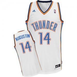 Maillot Swingman Oklahoma City Thunder NBA Home Blanc - #14 D.J. Augustin - Homme