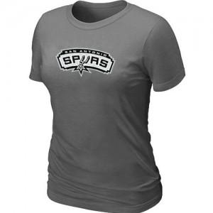 San Antonio Spurs Big & Tall Tee-Shirt d'équipe de NBA - Gris foncé pour Femme
