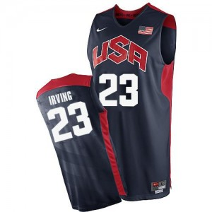 Maillot NBA Authentic Kyrie Irving #23 Team USA 2012 Olympics Bleu marin - Homme