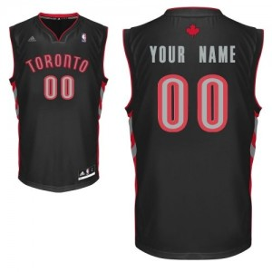 Maillot NBA Noir Swingman Personnalisé Toronto Raptors Alternate Femme Adidas