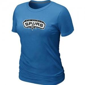 San Antonio Spurs Big & Tall Bleu clair Tee-Shirt d'équipe de NBA Peu co?teux - pour Femme