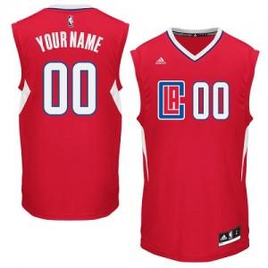 Los Angeles Clippers Swingman Personnalisé Road Maillot d'équipe de NBA - Rouge pour Homme
