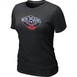 Tee-Shirt NBA Noir New Orleans Pelicans Big & Tall Femme