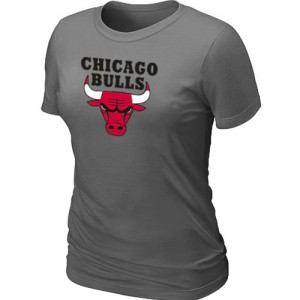 Tee-Shirt NBA Gris foncé Chicago Bulls Big & Tall Femme