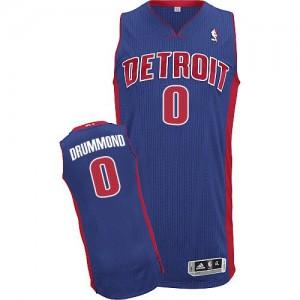 Detroit Pistons #0 Adidas Road Bleu royal Authentic Maillot d'équipe de NBA en ligne pas chers - Andre Drummond pour Homme