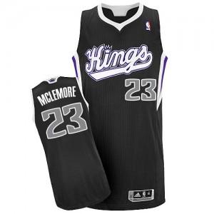 Maillot NBA Sacramento Kings #23 Ben McLemore Noir Adidas Authentic Alternate - Homme