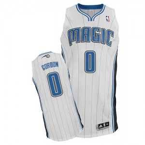 Orlando Magic #0 Adidas Home Blanc Authentic Maillot d'équipe de NBA en ligne - Aaron Gordon pour Homme