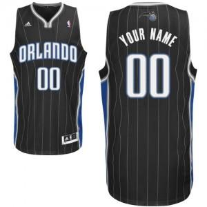 Maillot NBA Orlando Magic Personnalisé Swingman Noir Adidas Alternate - Enfants