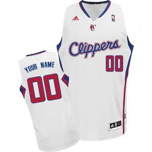 Maillot NBA Swingman Personnalisé Los Angeles Clippers Home Blanc - Enfants