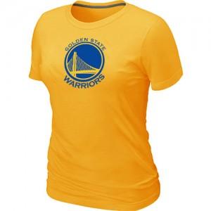 Tee-Shirt NBA Jaune Golden State Warriors Big & Tall Femme