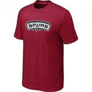 San Antonio Spurs Big & Tall Tee-Shirt d'équipe de NBA - Rouge pour Homme