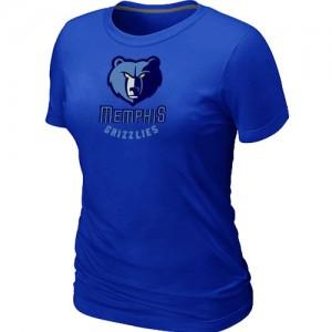 T-shirt principal de logo Memphis Grizzlies NBA Big & Tall Bleu - Femme