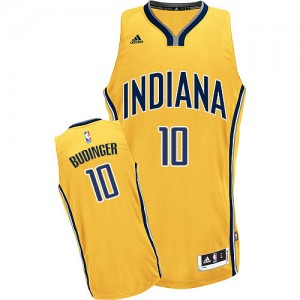 Maillot Swingman Indiana Pacers NBA Alternate Or - #10 Chase Budinger - Homme