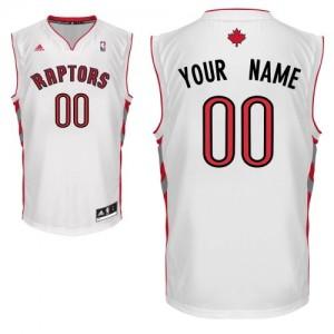 Maillot NBA Swingman Personnalisé Toronto Raptors Home Blanc - Homme