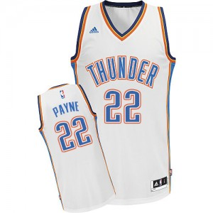 Maillot NBA Swingman Cameron Payne #22 Oklahoma City Thunder Home Blanc - Homme