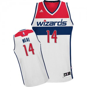 Maillot Swingman Washington Wizards NBA Home Blanc - #14 Gary Neal - Homme