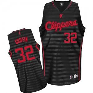 Los Angeles Clippers #32 Adidas Groove Gris noir Authentic Maillot d'équipe de NBA Expédition rapide - Blake Griffin pour Homme