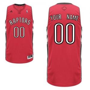 Maillot NBA Swingman Personnalisé Toronto Raptors Road Rouge - Homme