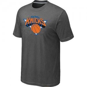 Tee-Shirt Gris foncé Big & Tall New York Knicks - Homme