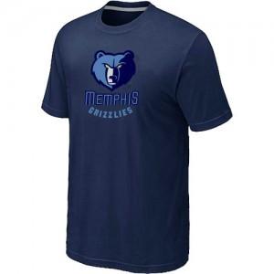 Memphis Grizzlies Big & Tall Marine Tee-Shirt d'équipe de NBA boutique en ligne - pour Homme