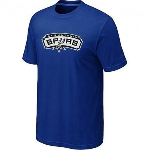 T-shirt principal de logo San Antonio Spurs NBA Big & Tall Bleu - Homme