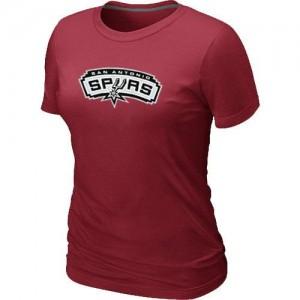 Tee-Shirt NBA Rouge San Antonio Spurs Big & Tall Femme