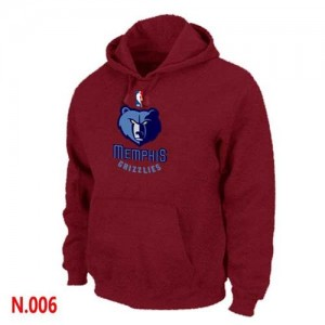 Sweat Rouge Memphis Grizzlies - Homme