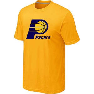 T-shirt principal de logo Indiana Pacers NBA Big & Tall Jaune - Homme