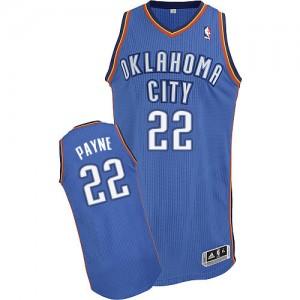 Oklahoma City Thunder #22 Adidas Road Bleu royal Authentic Maillot d'équipe de NBA en ligne - Cameron Payne pour Homme