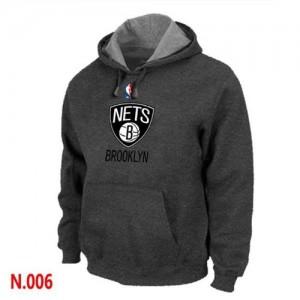 Sweat Gris foncé Brooklyn Nets - Homme